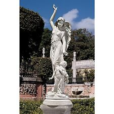 """KY1456 - """"Queen of Angels, Guardian of Children"""" Statue - Stone Finish!"""