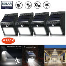 Solar Powered Wall Lamp PIR Motion Sensor Light Control Waterproof Outdoor Light