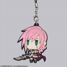Square Enix Trading Rubber Strap 6 Cellphone Charm Final Fantasy XIII Lightning
