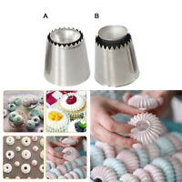 Russian Pastry Flower Icing Piping Nozzles Cake Decoration DIY Baking Tool US SO