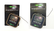 Korda Dark Matter Tungsten Coated Braid Gravel Brown or Weed Green Fishing