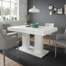 Esstisch Kulissentisch weiß ausziehbar Heidelberg 140-220x90 cm Esszimmer Küche