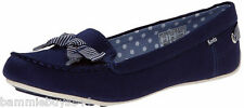 NEW KEDS Cruise Slip-on Bow Loafer Casual Shoes Women's Navy Size 10 (M) CUTE