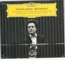 Evgeny Kissin, Beethoven Piano Sonatas No. 3, 14, 23, 26, 32; Sealed 2 Disc CD