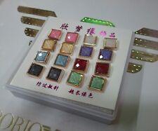wholesale New ladies girls 8pairs fashion  earring box ear studs job lot uk