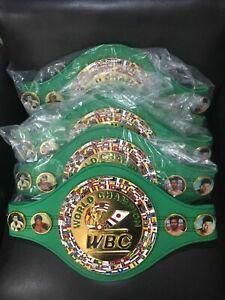 2020 New WBC World Boxing Championship belt men ADULT SIZE best quality-replica