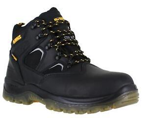 DeWalt Challenger Mens Black Waterproof Safety S3 Steel Toe Work Boots