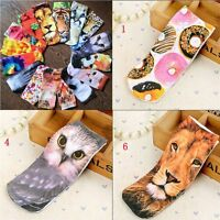 Pair Fashion Casual Cotton 3D Printed Animal Ankle Socks Low Cut