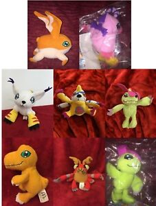 Digimon Mcdonalds & Other Soft Toy