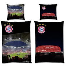 Linon Bettwäsche FC Bayern München Allianz Arena Kinderbettwäsche 135x200 80x80