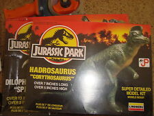Vintage Jurassic Park Hadrosaurus Lindburg Model Dinosaur Kit Brand New Sealed
