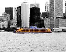 Statten island ferry New York City matted picture interior wall decor print