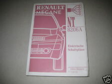 Wiring Diagrams Renault Megane, Stand 2002