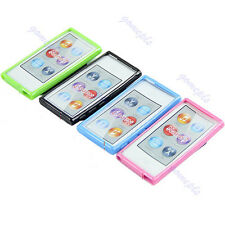 Ultra Thin TPU Case Cover Skin For Apple ipod Nano 7 7G 7th Gen With Belt Clip