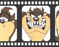 Looney tunes Tasmanian Devil Cartoon Wallpaper Border Kid's Room Wall Decor