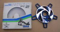 NEW BMX TIOGA MAX FLO FC-2 SPIDER OLD SCHOOL BLUE