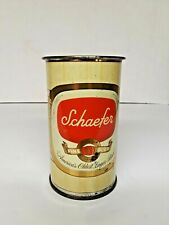 New listing Schaefer Flat Top Beer Can Drinking Mug Brewing Ny New York 12oz
