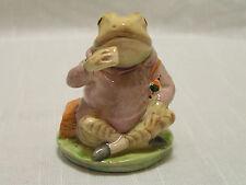 "Beatrix Potter ""Mr. Jeremy Fisher"" Beswick Porcelain Figurine BP-3c Backstamp EX"