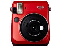 Fujifilm Instax Mini 70 Red Instant Film Camera Fuji Mini70
