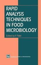 Rapid Analysis Techniques in Food Microbiology (1994, Hardcover)