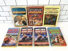 Nancy Drew & Hardy Boys Paperback LOT - 7 Books (1 Dupe) - 80s-90s Carolyn Keene