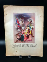 Vintage Gone with the Wind  Souvenir Program MGM 1939 Theater