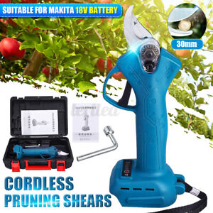 Cordless Electric Pruning Shears Branch Pruner + Box For 18V Makita Battery