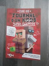Livre Journal d'un super guerrier minecraft