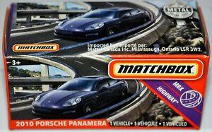 Matchbox Power Grabs 2020 #85 2010 Porsche Panamera MBX Highway NIB Sealed