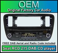 SEAT Mii DAB+ autoradio, RCD 215 RADIO DIGITALE LETTORE CD, codice