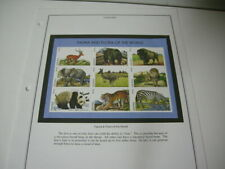 LESOTHO 1998 Fauna and Flora of the World M1.50 - 9 Stamp Sheet