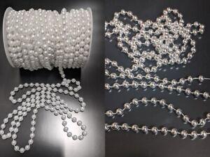 Weihnachtsbaum Perlenkette, Perlenband, Perlenschnur, Perlengirlande