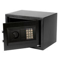 "9"" Digital Electronic Cash Safe Box Keypad Lock Security Home Office Hotel Gun"
