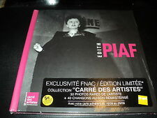 "COFFRET 2 CD-LIVRE NEUF ""EDITH PIAF - COLLECTION CARRE DES ARTISTES"" best of"