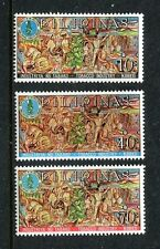 Philippines 993-995,MNH.Michel 853-855. Tobacco industry,Board's Emblem,1968.