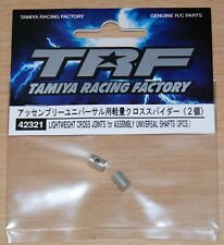 Tamiya 42321 TRF Lightweight Cross Joints for Assembly Universal Shafts (2 Pcs.)