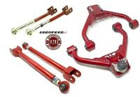 Set of 2 Z34 compatible with Nissan 370Z Adjustable Rear Camber Arms With Spherical Bearings 2009-18 AK-059-A Godspeed