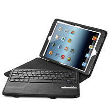 Removable Leather Case Cover Stand with Bluetooth Keyboard For Apple iPad Air 5