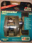 Vintage NEW Abu Garcia Ambassadeur USA 1 High Speed Baitcasting reel