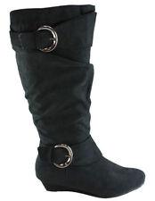 Zip Kitten Heel Mid-Calf Boots for Women