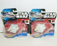 Lot of 2 Hot Wheels Star Wars Die Cast Ghost Ship Star Wars Rebels Animated