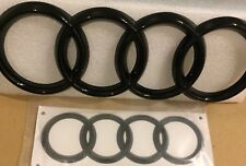 Audi TT Black Front Grille And Boot Badge Set |Front [273*94mm] Front [178*57mm]