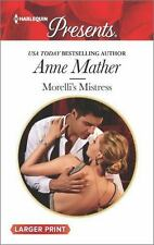 Morelli's Mistress (Harlequin Large Print Presents)-ExLibrary