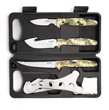 Hunting Knife Kit - Field Dressing Gear Accessories Set for Men, Butcher
