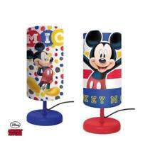 Lampe de Chevet Cylindre MICKEY MOUSE Enfant Chambre Couleurs Assorties ! LQ2024