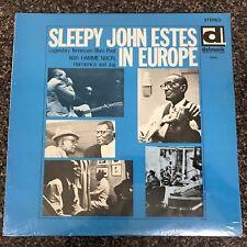 SEALED - SLEEPY JOHN ESTES - In Europe LP NEW Delmark DS-611  Hammie Nixon