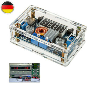 Step-Down Wandler Einstellbar 5-36V 5A Spannungsregler Converter Modul Kit LED