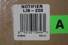 NOTIFIER LIB-200 Fire Alarm Loop Interface Board LIB200