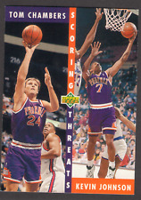 US. 1992-93. Upper Deck. #64. Kevin Johnson & Tom Chambers
