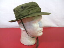 Vietnam Us Army Og-107 Green Poplin Jungle Boonie Hat Sz 6 3/4 Dtd 1967 Rare